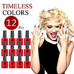 (Choose 12) ANA Nail UV 10ml 200 Fashion Color Long-lasting LED Gel Polish Top Fashion