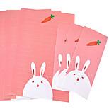 Cartoon stationery suite (3 +3 envelopes letterheads, envelopes letter 8.6*17.6CM, 18.5*26CM, random pattern)