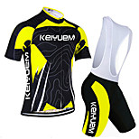 KEIYUEM®Others Unisex Short Sleeve Spring / Summer / Mountain Bike Cycling Clothing Bib Suits/ Breathable Quick Dry#25