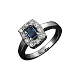 Hot Sale lady 18k gold plated wedding Promise Ring three color for choice