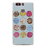 TPU Material Donuts Pattern Slim Phone Case for Huawei P9 Lite/P9
