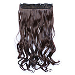 Borwn Length 60CM Synthetic Curly Hair Mixed Color Wig(Color 4A/33)