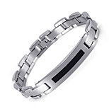 Healthy Magnetic Bracelets & Bangles Stainless Steel Jewelry For Men Women Wholesale Men's Hand Chain Silver&Black