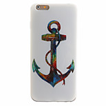TPU Material + IMD Crafts Perfect Fit Anchors Pattern Cellphone Case for iPhone 6/6S/6 Plus/6S Plus