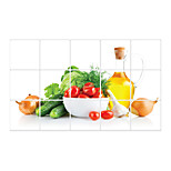 AY3018 Vegetable Anti-Oil With Sticker Kitchen Removable Waterproof Wall Stickers