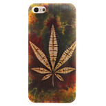 Grass Aescinate Pattern TPU + IMD Material Phone Case for iPhone SE / 5s / 5