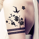 Fashion Temporary Tattoos Jewelry Sexy Body Art Waterproof Tattoo Stickers 5PCS  (Size: 3.74'' by 6.69'')