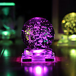 1PC The Crystal Ball Glow Creative Valentine'S Day Gifts Led Light Lamp