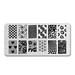 BlueZOO Rectangle Printing Nail Art Stamping (C-028)