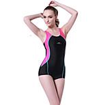 SBART®  Women's Swimwear Stretch / Compression One Piece Adjustable Adjustable Pink / Blue Pink / Blue XL / XXL / XXXL
