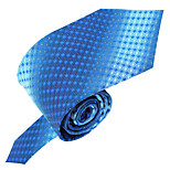Men Vintage / Party / Work / Casual Neck Tie,Polyester