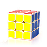 Magic Cube IQ Cube Yongjun Three-layer Speed Smooth Speed Cube Magic Cube puzzle White ABS