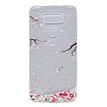 TPU Thin Transparent Flower Designs for LG G5 / K7