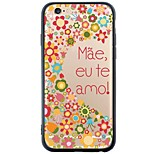 iphone 6s plus / 6 / iphone 6s / 6 TPU soft schriftelijk rugdekking