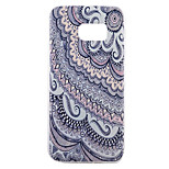 Back Pattern Stripes/Ripples TPU Soft Case Cover For Samsung Galaxy S7 edge plus / S7 edge / S7