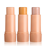 By Nanda® Three Color Highlighter Balm Stick