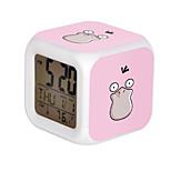 Poke Ball Colorful Flash Cartoon Alarm Clock-27#