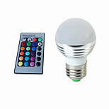 3W RGB LED Lamp E27 220V Spotlight Lampada LED