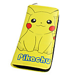 Inspired By Pocket Little Monster Pika Pika Long 19cm PU Leather Wallet