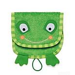 Cartoon Kids Wash Towel Baby Bath Cotton Soft Baby Wash Cloth (Frog)