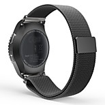 Milanese Loop Stainless Steel Bracelet Smart Watch Strap for Samsung Gear S2 Classic SM-R732 with Unique Magnet Lock