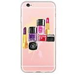 espalda Ultra-Fino / Traslúcido Other TPU Suave Ultra-thin Translucent Soft Back Cover Cubierta del caso para AppleiPhone 6s Plus/6 Plus