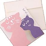 Warm Animal Greeting Card(Random Colors)