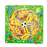 Magnetic Wooden Maze(Soccer)