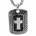 The Cross Metrosexual Army Brand Pendant Necklace