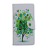 Tree Pattern PU Leather Full Body Case with Stand and Card Slot for Huawei Ascend P9 Lite/P8 Lite