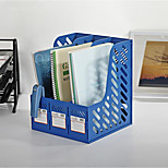Sange Plastic Baskets Office Dedicated File Three Color Options