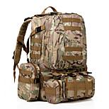 35 L Rucksack Camping & Hiking Outdoor Waterproof / Multifunctional Black / Army Green / Camouflage Nylon