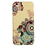 Back Dustproof / Pattern Flower TPU Soft Case Cover BS08 For Apple iPhone 6s Plus/6 Plus / iPhone 6s/6 / iPhone SE/5s/5