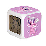 Cartoon Pet Colorful Luminous Alarm Clock-5#
