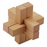 Wooden Blocks Interlocked Gift Box Six Sets of Wood Building Block