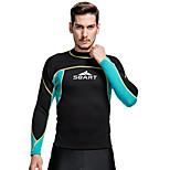 SBART Men's Diving Suits Diving Suit Compression Wetsuits 1.5 to 1.9 mm Blue S / M / L / XL / XXL / XXXXL Diving