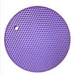 Candy Thicker Honeycomb Silicone Mat Slip Pad Heat-Resistant Mat Table Mat 5Pcs