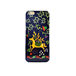 Glow In Yhe Dark  TPU Soft Pastoralism、Hand Painting Animal Case Cover For IPhone 5/6/6s/6plus/6s plus