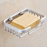 Soap Rack Space Aluminum Square Baskets Bathroom Shelves