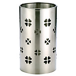 Oak®Stainless Steel Chopsticks Utensil Holder,Cylinder Shaped Rotating Chopsticks Holders