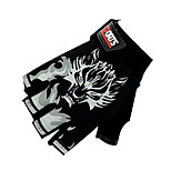 Sports Gloves Cycling Gloves Bike Fingerless Gloves Unisex Anti-skidding Summer Red / Black / Blue M / Others-Santic