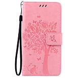 PU Leather Material Cat and Tree Pattern Phone Case for Huawei P9 Lite/P9/P9 Plus/P8 Lite/P8/Y625/Honor 5C/Honor 5X