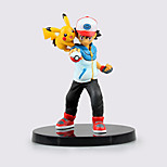 Pocket Little Monster Ash Ketchum and Pika Pika ABS 13.5cm Height Anime Action Figures