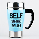 Stainless Steel Electric Automatic Mixing Lazy Coffee Cup Mug Creative Birthday Gift