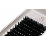 A Box Has 12 Rows of Eyelashes Silk Protein  Individual Lashes Eyes / Eyelash Thick Extended /  Handmade 13mm