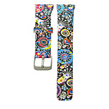 White Silicone sport painting Sport Band For Samsung Galaxy Watch 20mm