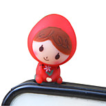 Little Red Riding Hood Little Girl Phone Dust Plug