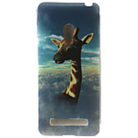 Giraffe Painting Pattern TPU Soft Case for Asus Zenfone 5
