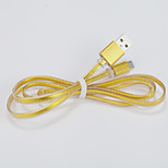 USB 2.0 / Micro USB 2.0 Normal / Plano TPU / Metal / PVC Cables 100(cm)cm