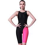 SBART Women's Swimwear Diving Suit Compression Wetsuits 1.5 to 1.9 mm Red XL / XXXL / XXXXL Swimming